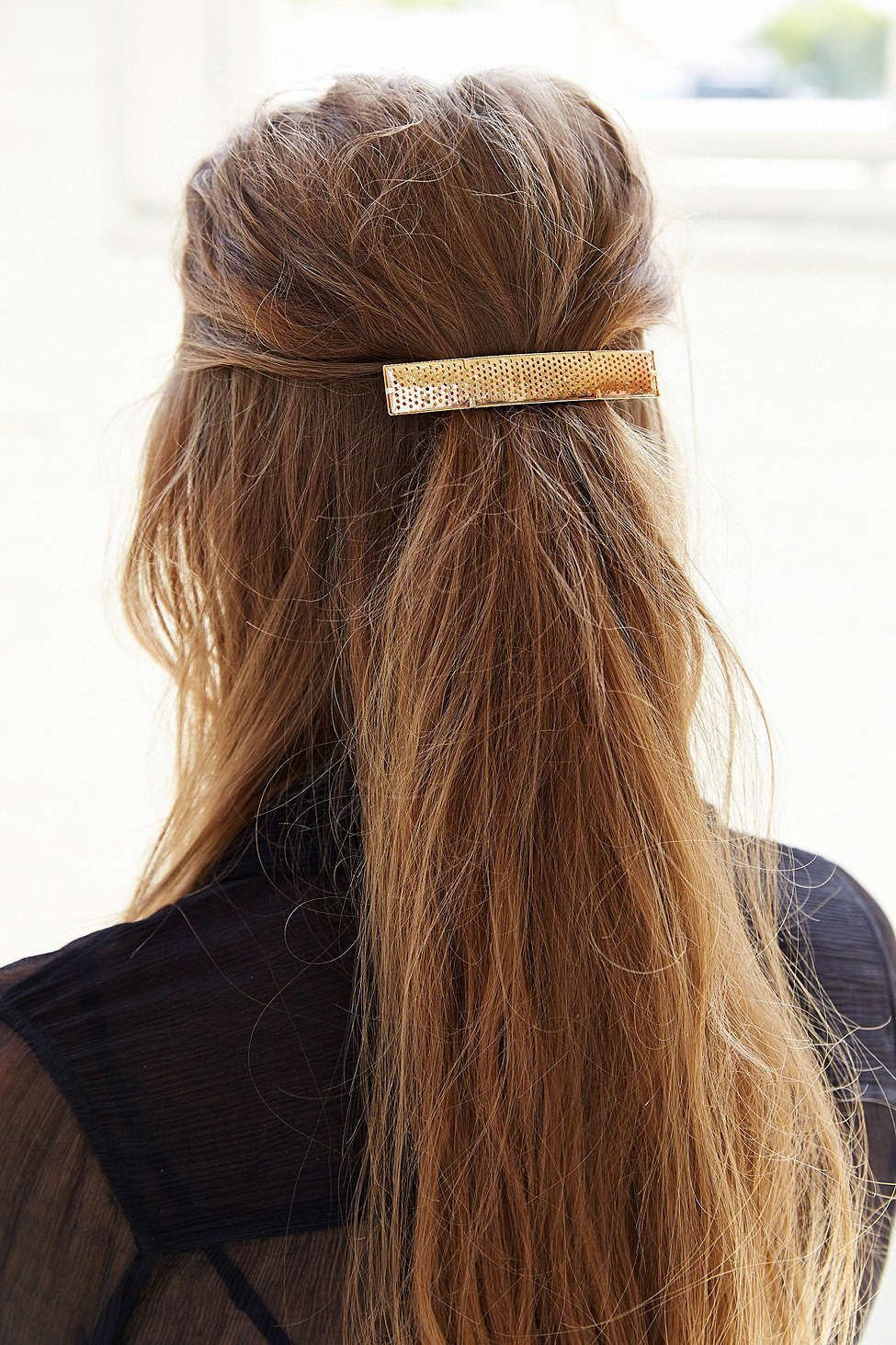 Perforated metal barrette is that for me pinterest barrette