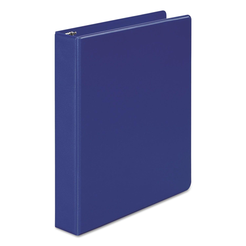 """368 Basic Round Ring Binder, 1-1/2"""" Cap, Blue"""