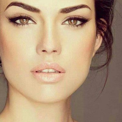 Perfect makeup look for my friend Karen Herman