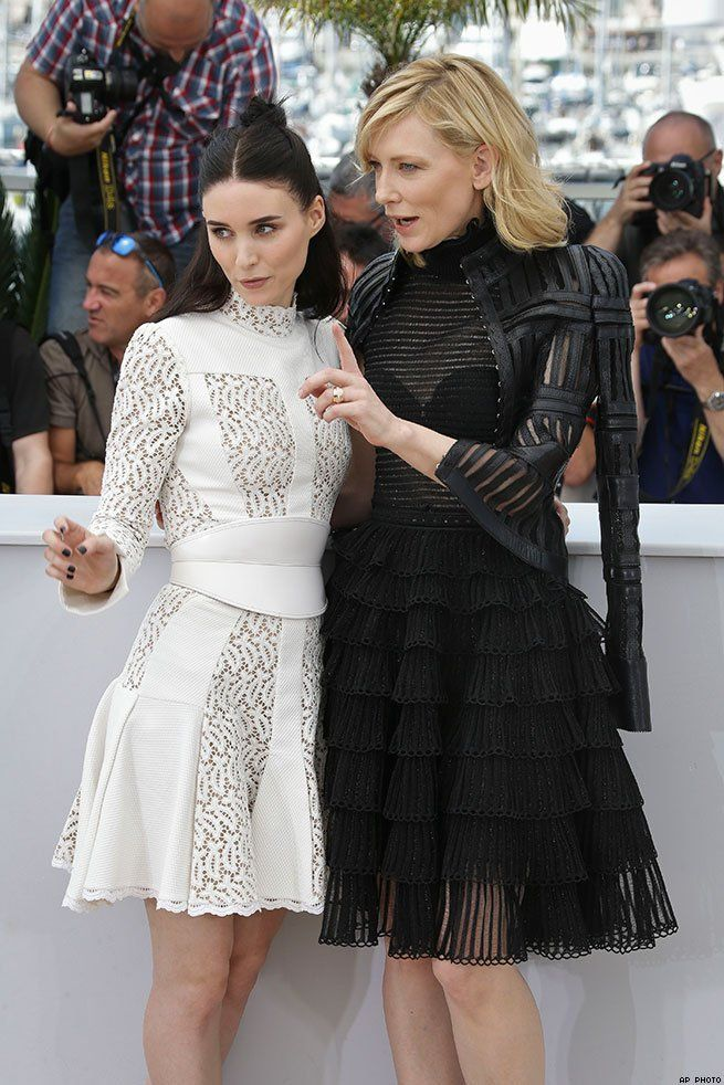 18 Times Carol's Cate Blanchett and Rooney Mara Were Adorable Together In Real Life