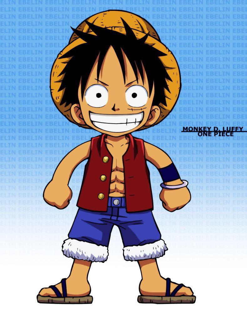 Chibi Luffy One Piece Vector Anime Pinterest Chibi