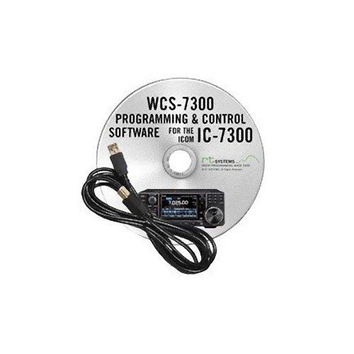 RT Systems Programming Software/Cable for Icom IC-7300 #programingsoftware