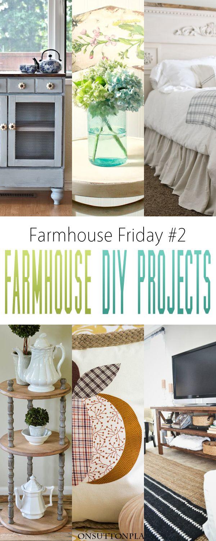 Farmhouse Friday #2: Farmhouse DIY Projects - The Cottage Market