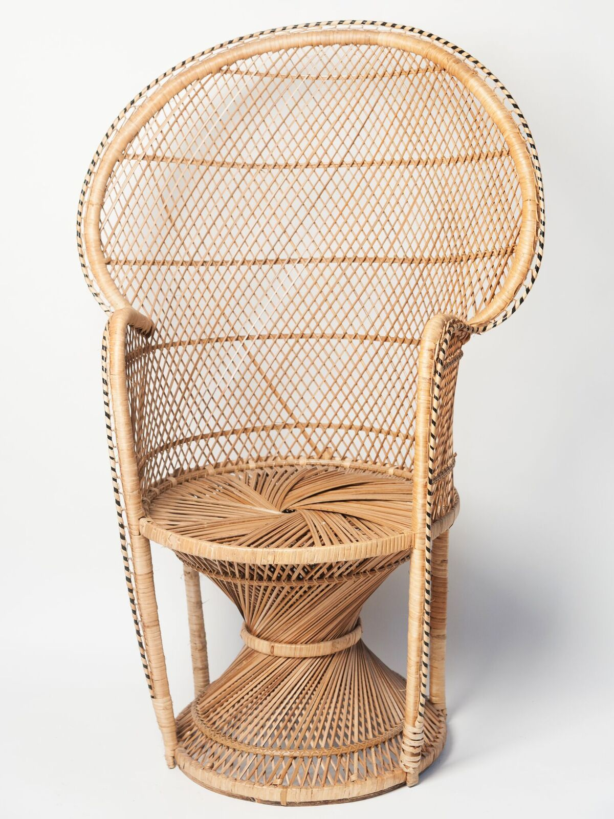 Beautiful mid century vintage peacock chairdecorative