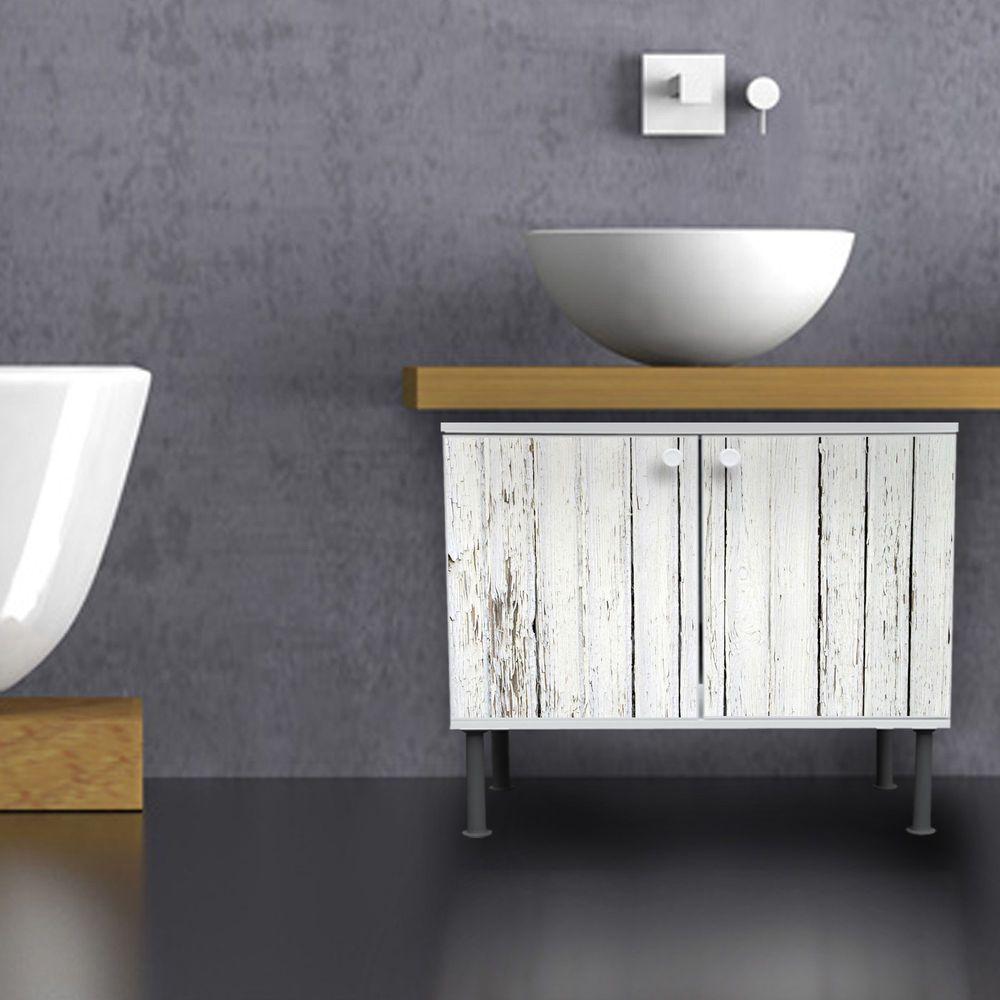 Badschrank Waschbecken Design Bad Unterschrank Waschtische Weißer ...