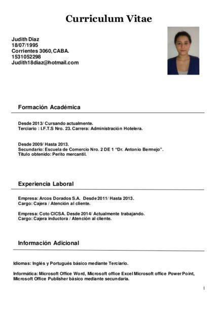 Modelos De Curriculum Pronto Para Preencher E Imprimir Modelos
