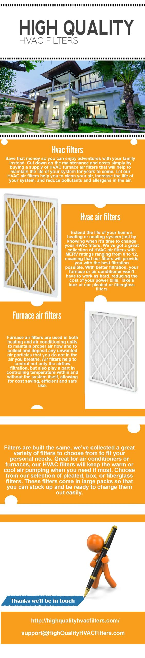 High Quality Hvac Filters Infographic Highquality Hvacfilters