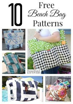 10 Free Beach Bag Patterns | Free pattern, Bags and Beach tote bags