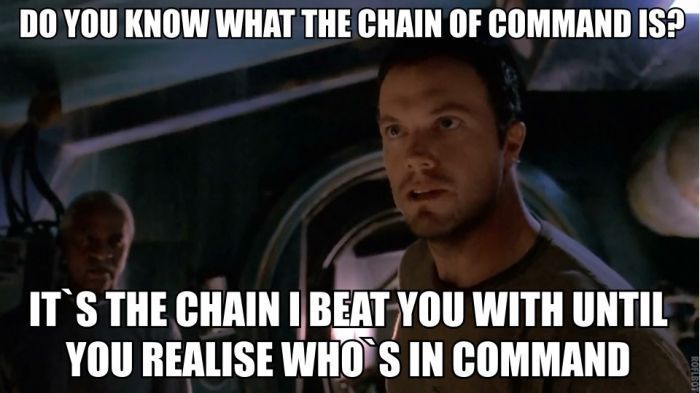 Firefly Meme Jayne Cobb Chain Of Command Firefly Quotes Do