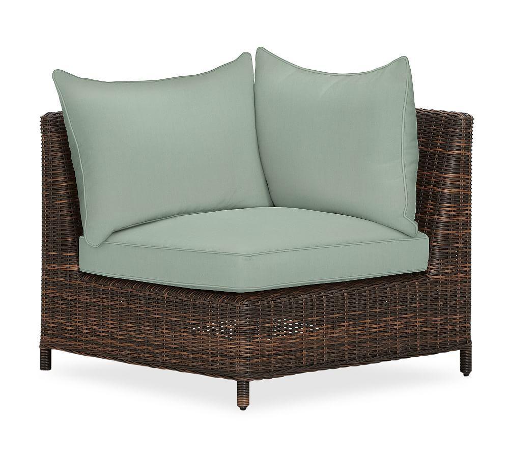 Torrey Roll Arm Occasional Chair Cushion Slipcover Sunbrella R