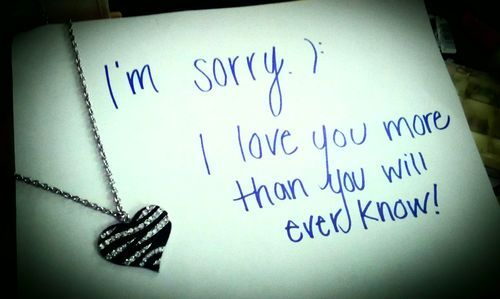 I M Sorry I Love You More Than You Will Ever Know Im Sorry Quotes Sorry Quotes Sorry My Love