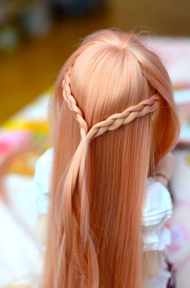 Asuna Hair I Know This Is A Doll But I Can Still Use It To Look At When I Do Mine Kawaii Hairstyles Hairstyle Asuna