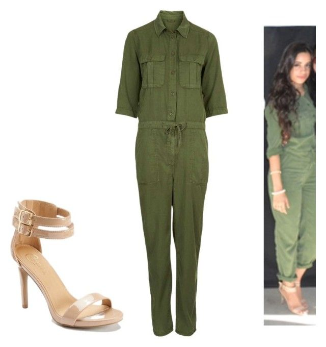"""""""Camila Cabello"""" by fifth-harmony-fashion ❤ liked on Polyvore featuring Candie's and Topshop"""