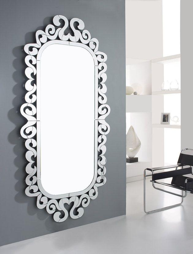Espejos vestidores de cristal modelo marea decoraci n for Decoracion de espejos