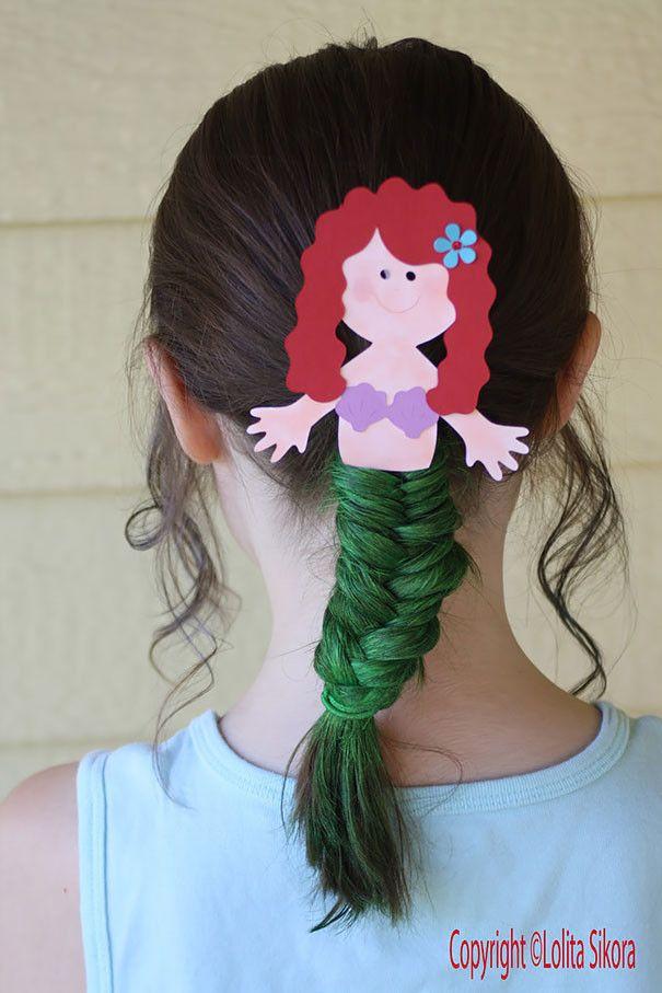 Peinados Locos Para Nina Para La Escuela 11 Cabello Pinterest