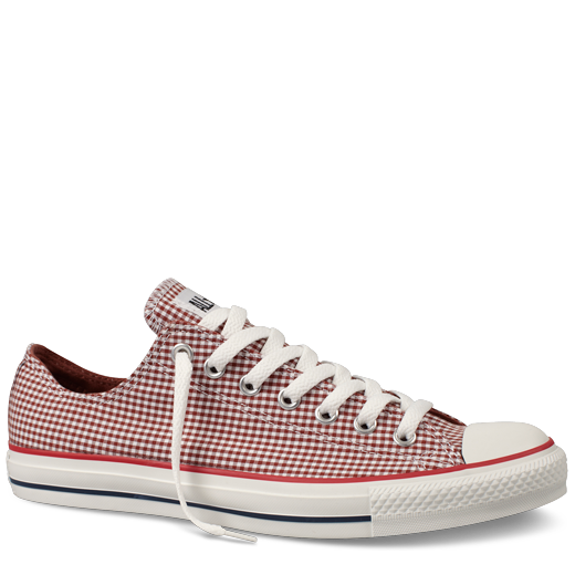 Chucks in red gingham :)