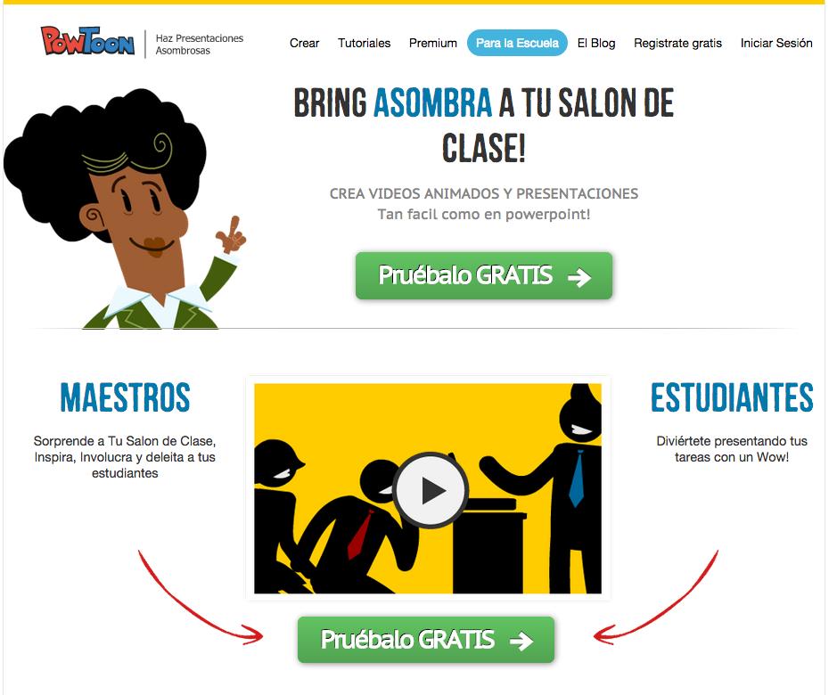 Introducing PowToon en Espanol! Now you can navigate