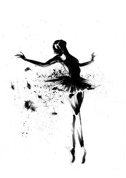 #dance #ballet #dancer I want to paint this onto the wall...