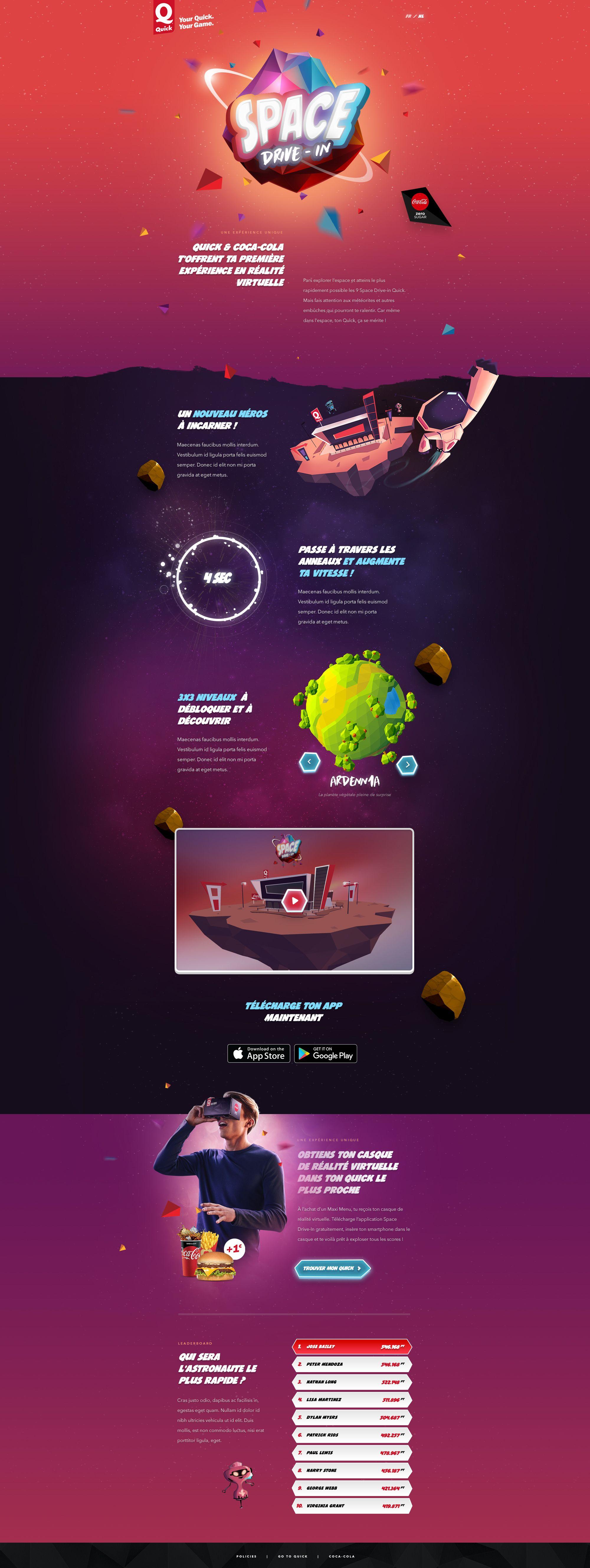 Quick Website Desktop Webpage Design Website Design Inspiration Web Design