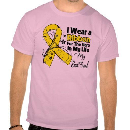 Best Friend Hero in My Life Sarcoma Awareness Shirts