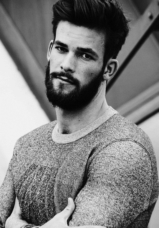 Magnificent 1000 Images About Beard On Pinterest Short Hairstyles Gunalazisus