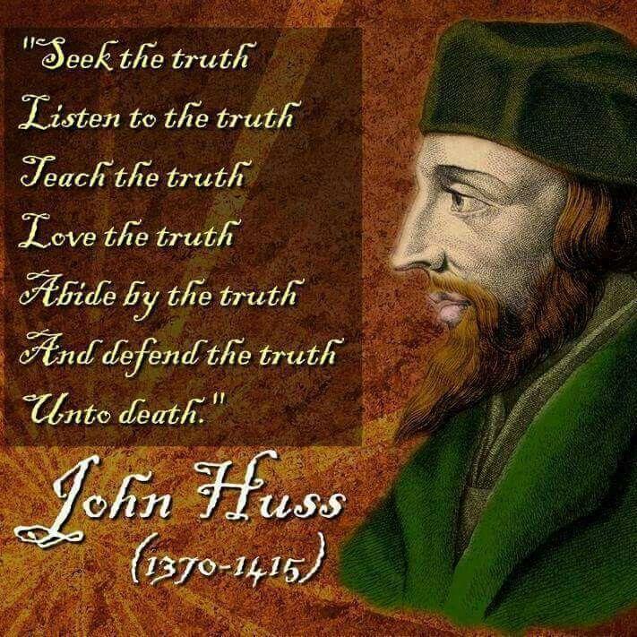 how did john huss die