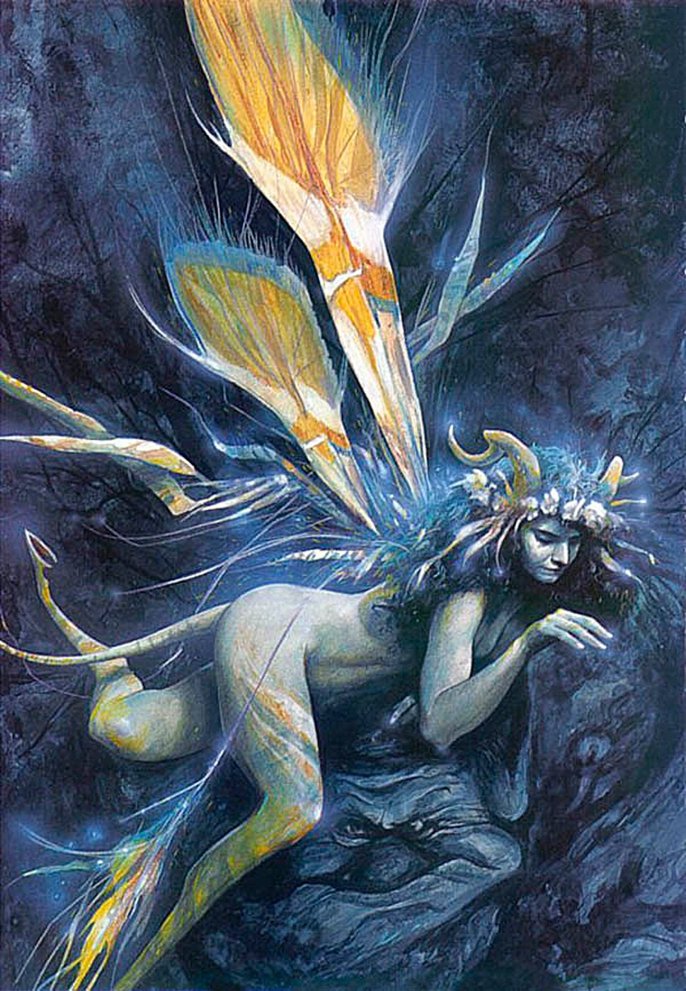 A Slippery Faery - Brian Froud All Faeries Are Elusive -4823