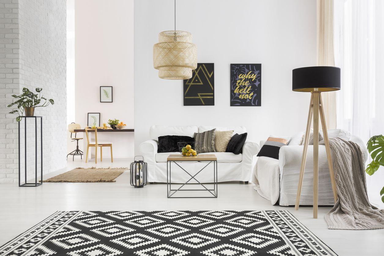 Décorer son salon avec des touches de noir - #Bricofamily #Salon ...