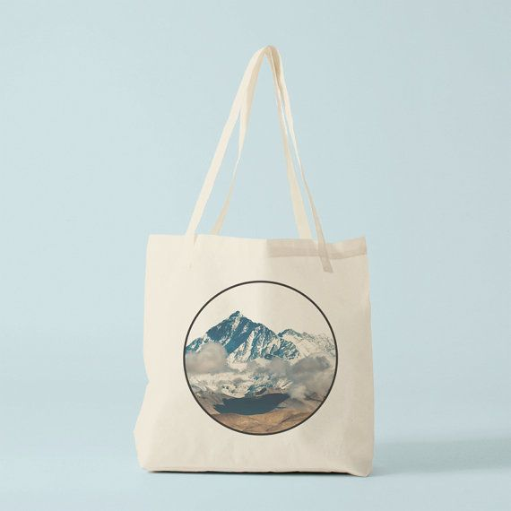 0b976f88d672 Mountains tote bag