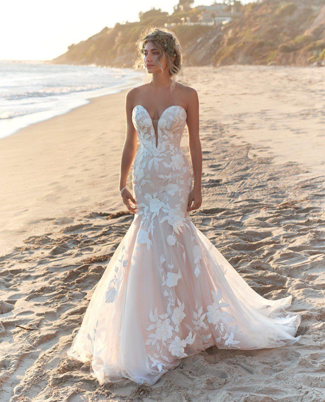 Boho beach wedding dresses MaggieSottero weddingdress ...