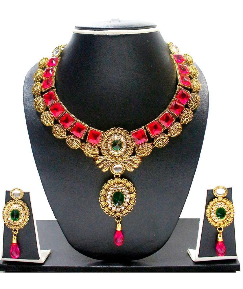 Zaveri pearls zpfk chokar kundan necklace setindianbollywood