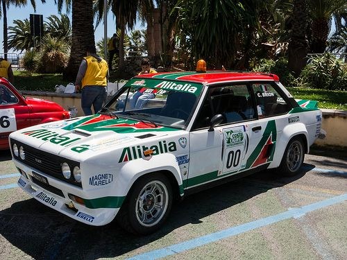 Vintage Rally Cars In San Remo Fiat 131 Abarth Avec Images