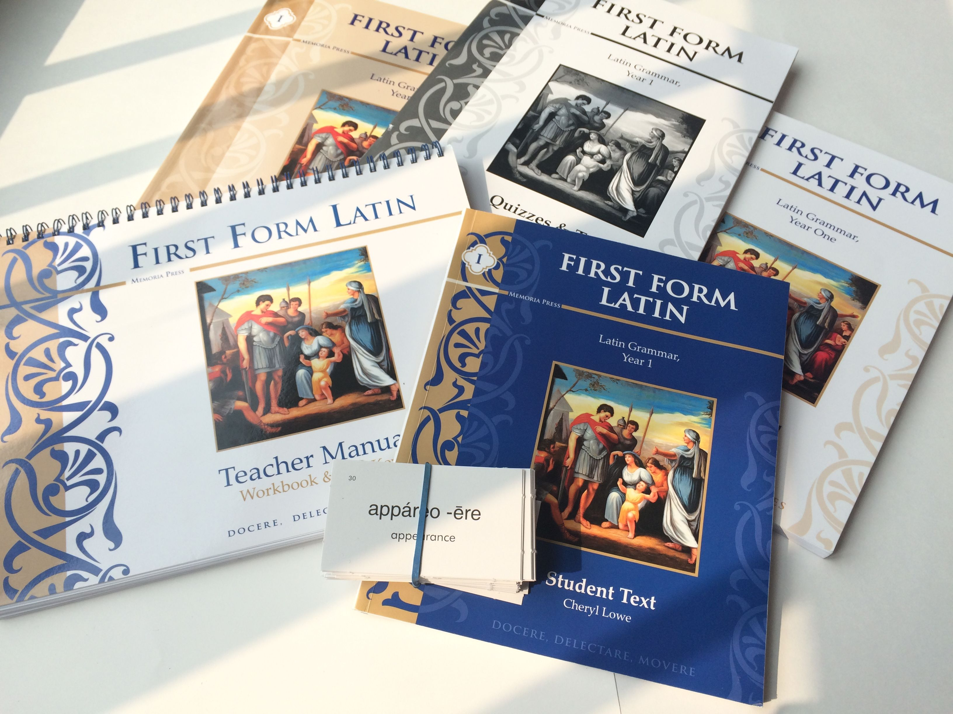 First Form Latin By Memoria Press