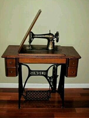 Antique Singer sewing machine - looks just like the one I have that originally belonged to my paternal grandmother & Singer trap naaimachine | ?? ??????? ??? | Pinterest | Vintage ... Aboutintivar.Com