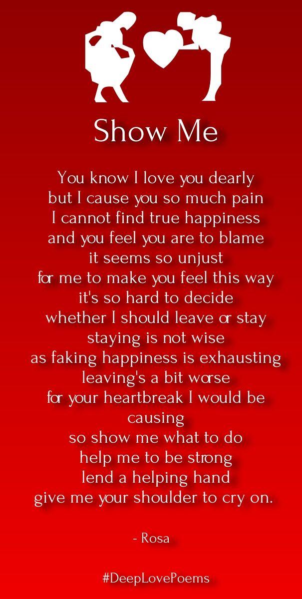 Short Deep Love Poems For Him