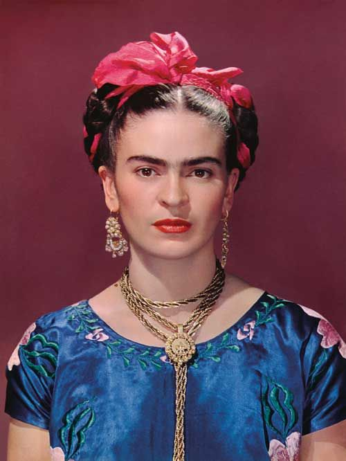 Frida Kahlo -1939 - New York - Photo by Nickolas Muray