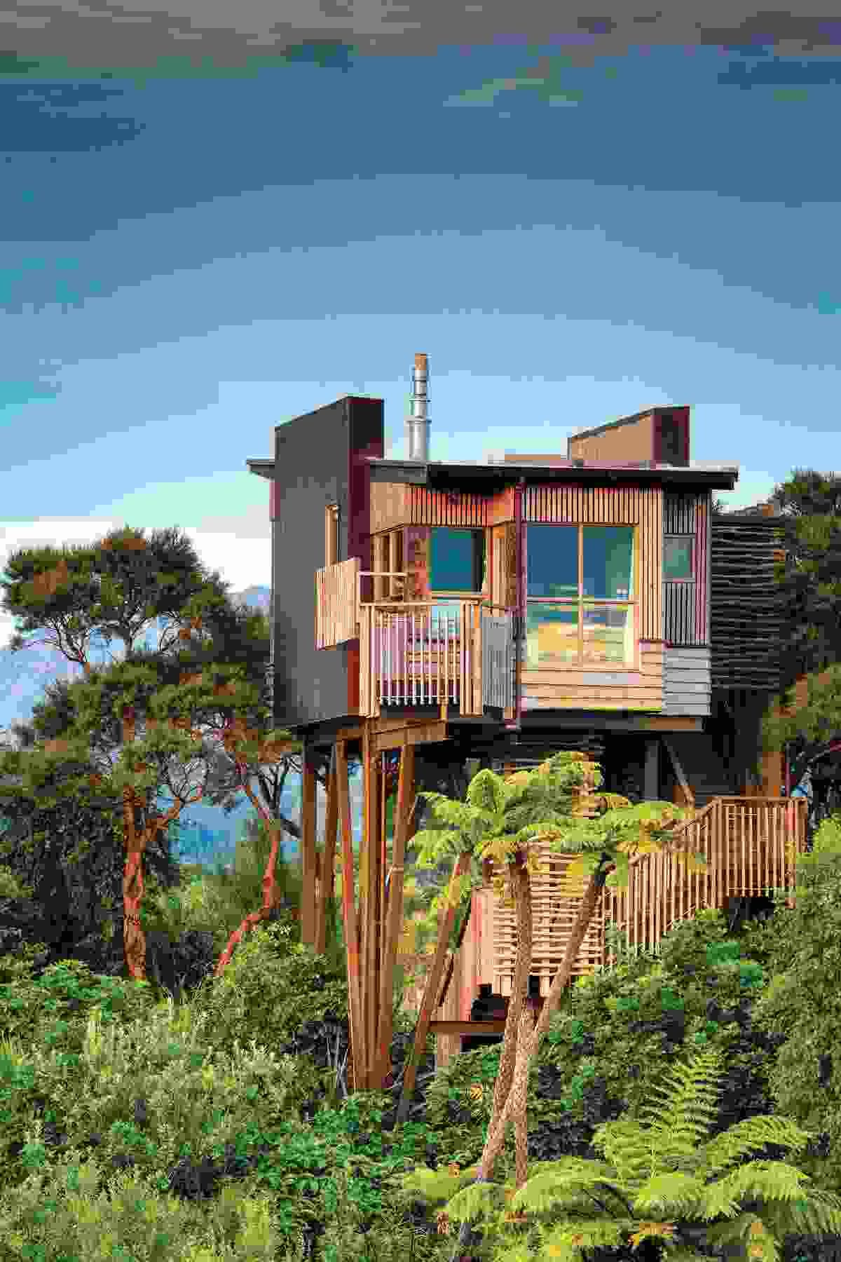 The best lodges in New Zealand Treehouse hotel, Cool