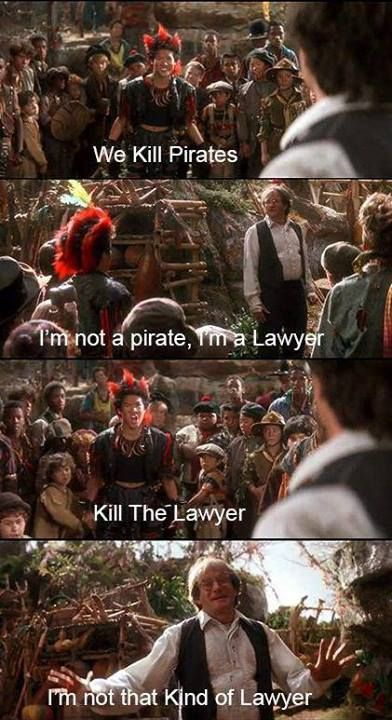 Pin By Jennifer Johnson On Movies Hook Movie Legal Humor Movie Quotes