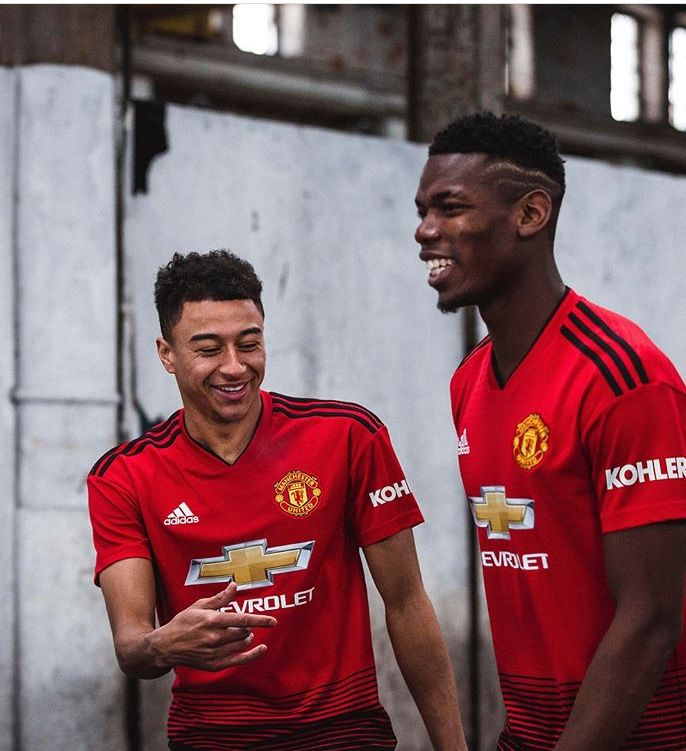Manchester United Unveil Their New Home Kit For The 2018