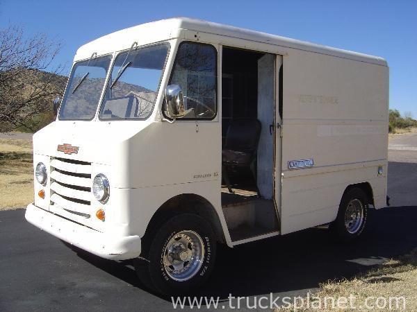 Pin by Randy Witt on Van | Step van, Vans, Commercial vehicle