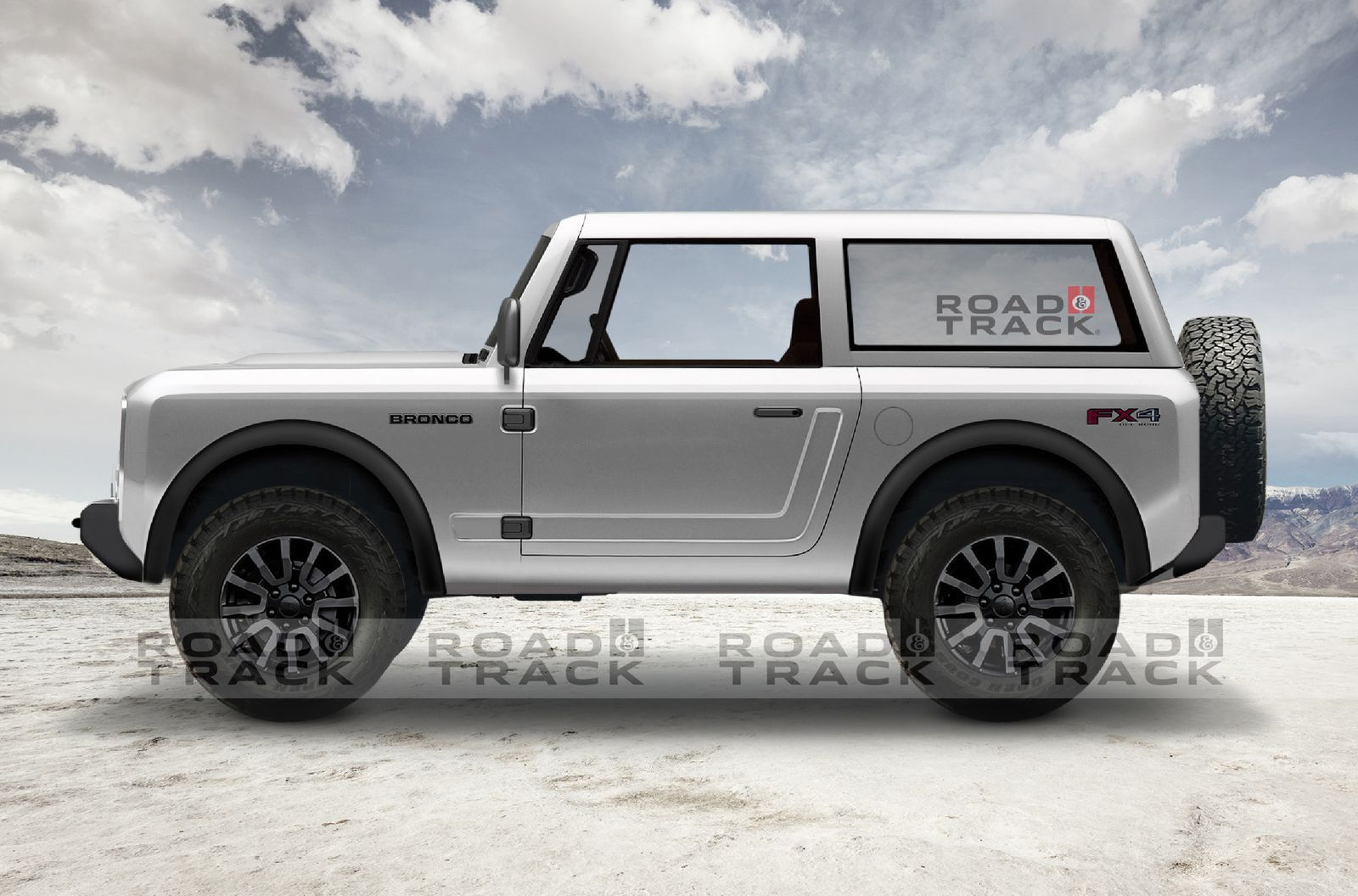 Here S What We Think The 2020 Ford Bronco Will Look Like Ford Bronco Ford Bronco Concept Bronco