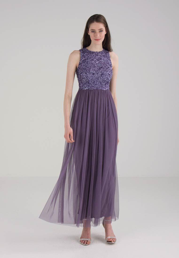 Lace   Beads PICASSO MAXI - Abito da sera - dark lavender - Zalando.it bacfbb5c5a7