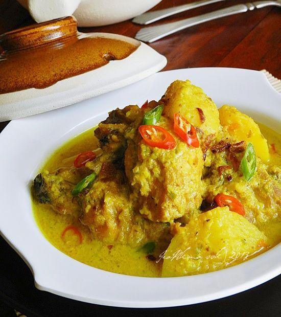 Ayam Masak Lemak Cili Api Tanpa Santan Singgahsana Kitchen Resep Ayam Resep Masakan Asia Resep Masakan Malaysia