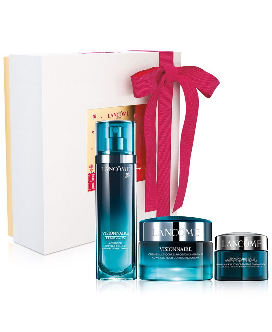 Lancome 3-Pc. Visionnaire Holiday Gift Set | PACKAGING | Pinterest ...