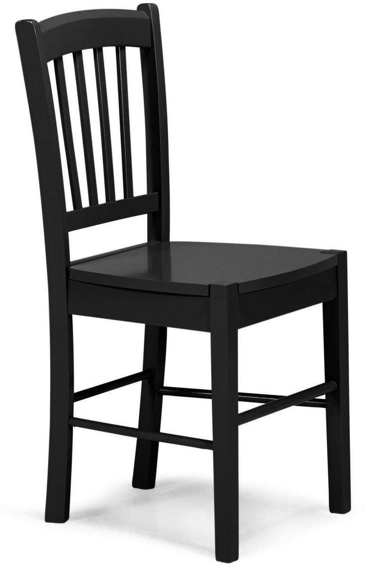 magnifique chaise en bois noir pas cher #bois #chaise