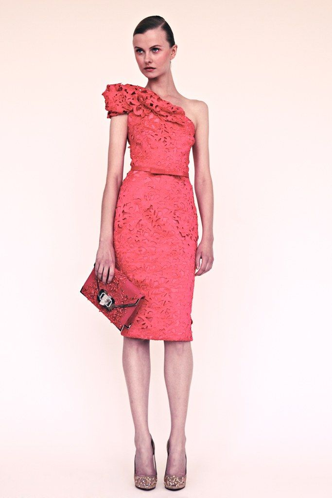 Marchesa Resort 2013 Fashion Show - Kamila Filipcikova