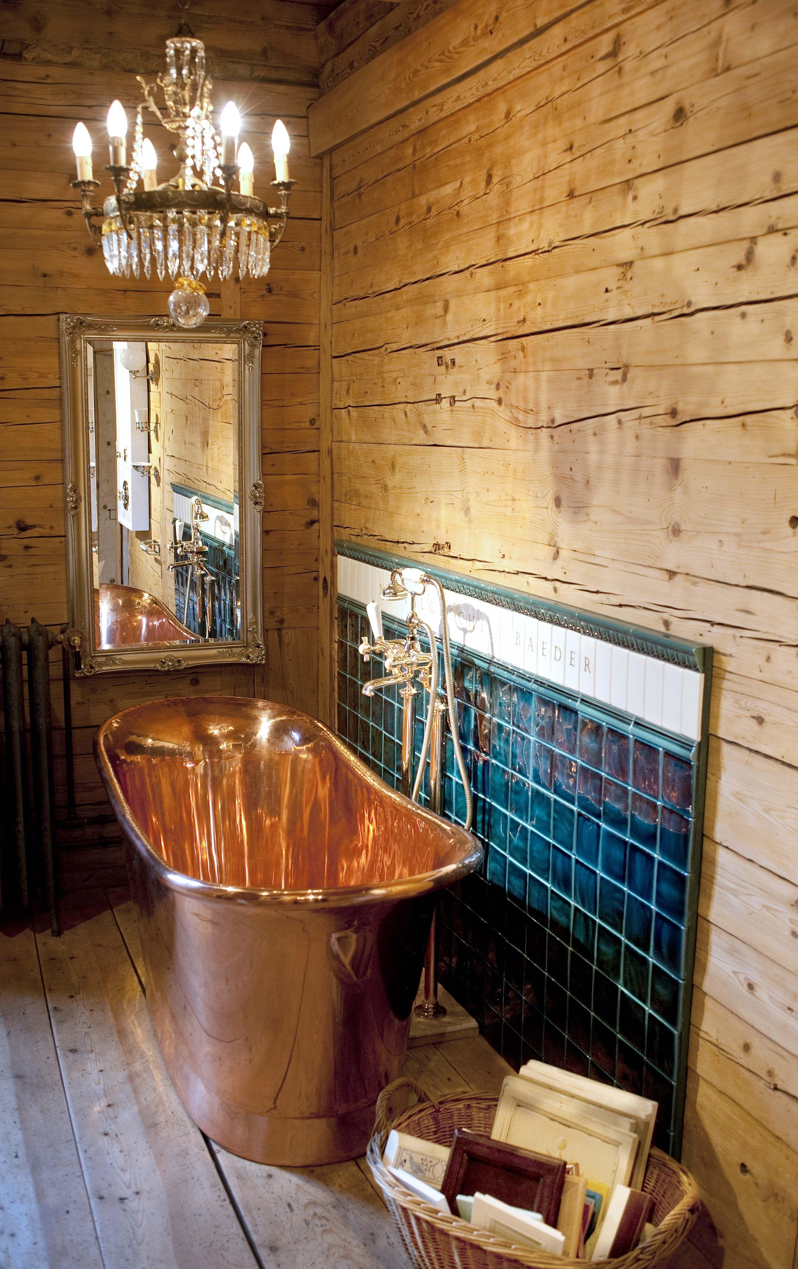 Bad Im Landhausstil Badewanne Traditionelle Bader Schone Badezimmer