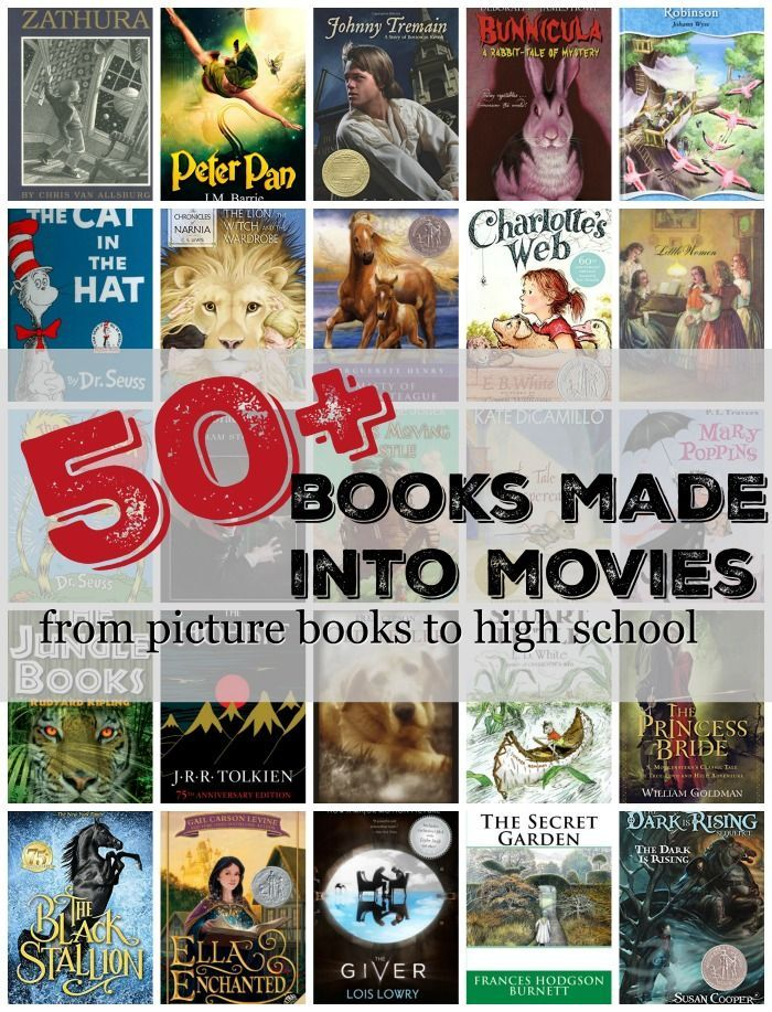 Read These Books Before You Watch The Movie Kids Book Club High School Books Best Children Books
