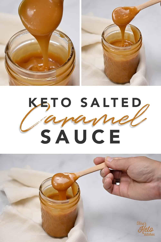 Keto Caramel Sauce With Allulose Recipe In 2020 Vanilla Ice Cream Recipe Caramel Sauce Fudge Sauce