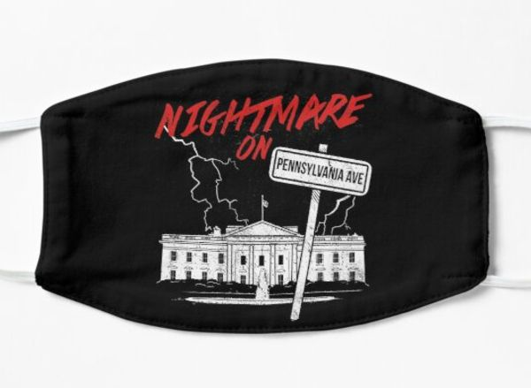 White House 2020 Halloween Nightmare White House | Anti Trump | Halloween | Mask in 2020
